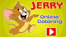 Том и Джерри: Раскрась Джерри