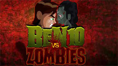 Бен 10 против зомби