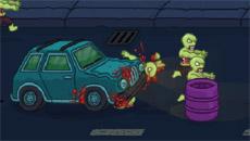 Беги и стреляй в зомби 2
