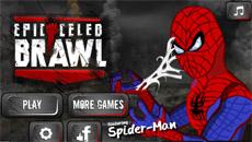 Бокс с человеком пауком