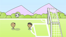 Футбол головами 1