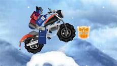 Трансформеры гонки по льду